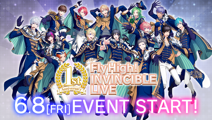 Fly High! INVINCIBLE LIVE (Part 1) Banner.png