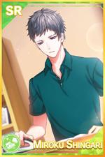 【Keepsake Shirt】Miroku Shingari