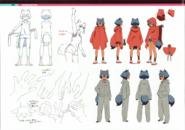 Michiru drawing sheet 2