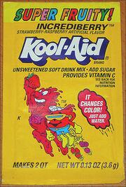 Kool-Aid Incrediberry flavor (Super Fruity!) packet early 90's.jpg