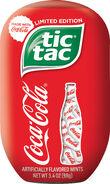 Tic Tac with Coca Cola