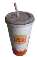 Burger King Soda Cup OLD Transparent