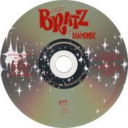 Bratz Forever Diamondz Soundtrack Album - Disc Art