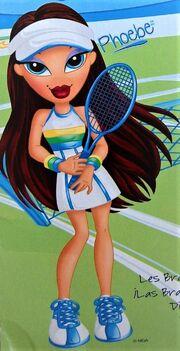 Play Sportz Teamz Tennis - Phoebe (Art)