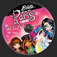 Bratz Go to Paris Disc Art