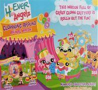 Clowning Around Animal Wagon Art