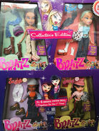 First Edition Re-Release Yasmin, Cloe, Sasha, and Jade