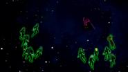 Green Lanterns surrounding Despero