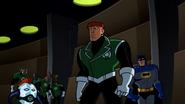 Batman stopping Guy
