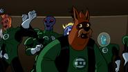 Green Lanterns cheering G'Nort 004