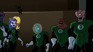 Green Lanterns cheering G'Nort 005