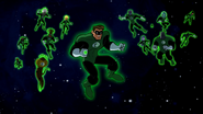 Hal Jordon and the Green Lantern Corp