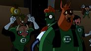 Green Lanterns cheering G'Nort 001