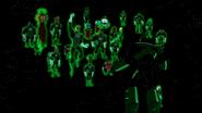 Batman sees the Green Lanterns