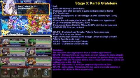 "Brave Frontier RPG Guida Trial Ex3 ""Impatto Cobalto"""