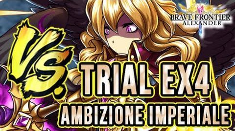 BRAVE FRONTIER RPG EU TRIAL EX4 AMBIZIONE IMPERIALE - Sconfiggiamo Eriole e Tesla!