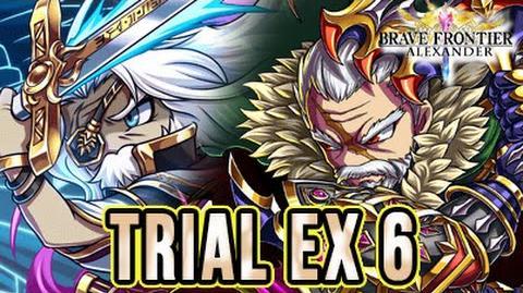 TRIAL EX6 Spezzare le Barriere - BRAVE FRONTIER RPG EU