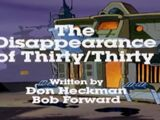 The Disappearance of Thirty/Thirty