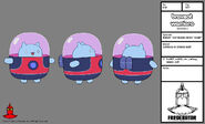 BW - Model - Catbug in Space Suit