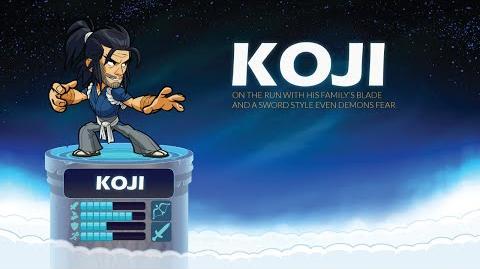 Koji - Brawlhalla Legend Reveal