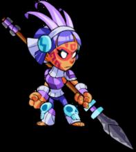 Purple QUEEN NAI