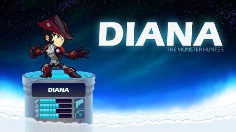 Diana - Brawlhalla Legend Reveal
