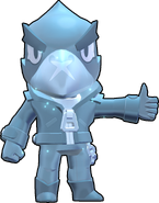 Ворон Skin-True Silver
