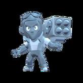 Brock Skin-True Silver