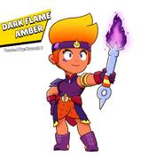 Skinidea Dark Flame Amber