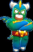 El Primo Skin-El Dragón Verdoso