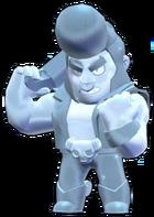 Bull Skin-True Silver