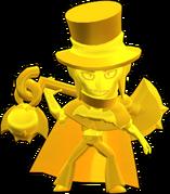 Мортис Skin-True Gold но в цилиндре