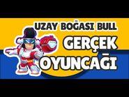 Uzay Boğası Bull, Karanlık Lord Spike ve Mega Kutu - (Gerçek Brawl Stars Oyuncakları) -4
