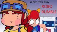 BRAWLSTARS ANIMATION WHEN YOU PLAY ROBO RUMBLE