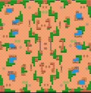 Grassy Gorge-Map