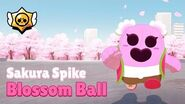 Brawl Stars Sakura Spike Blossom Ball