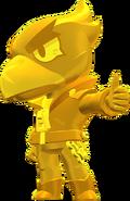 Ворон Skin-True Gold