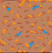 Barren Badlands-Map