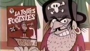 Cap'n Crunch and La Foote's Footsies Cereal - 1967