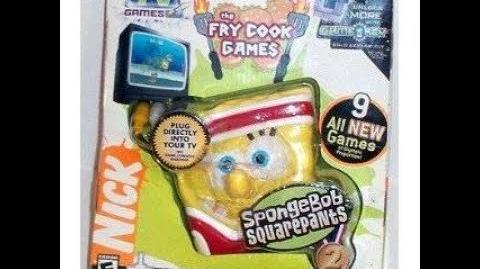 Plug n Play Games Spongebob Squarepants The Fry Cook Games
