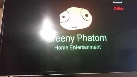 Opening To Greeny Phatom Season 1 Disc 1 2017 Homemade DVD-0