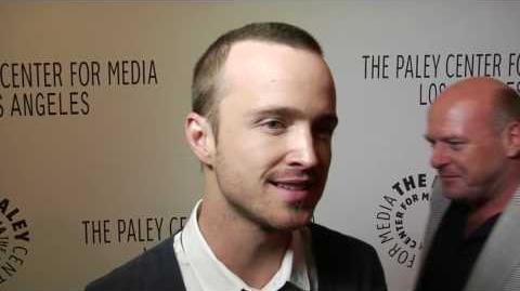 Aaron Paul interview for Breaking Bad season 3 at Paleyfest TV Festival