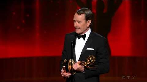 Bryan Cranston wins 2014 Emmy for Outstanding Lead Actor - Drama