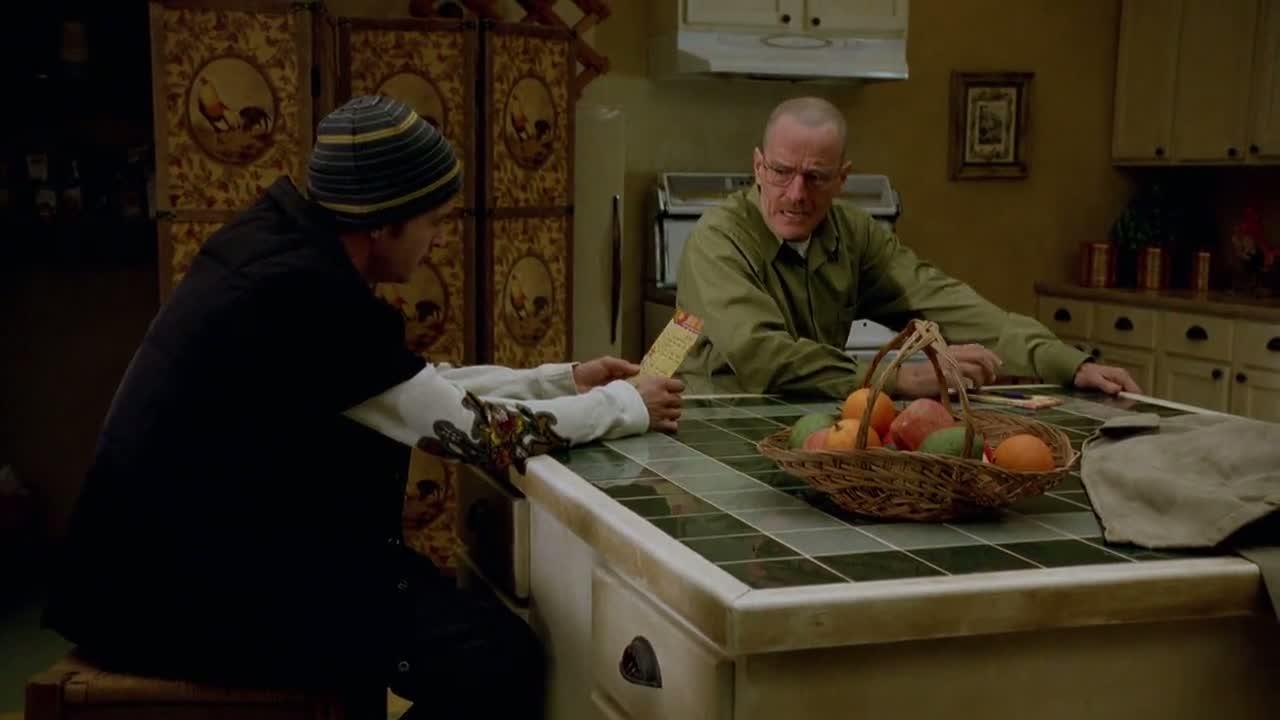 1x07 - Walt giving Jesse his shopping list.jpg