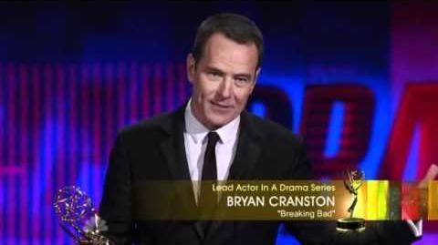 Bryan Cranston wins 3rd consecutive Emmy (2010)