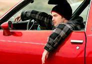 Jesse in Car