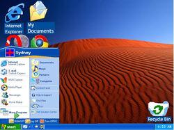 Windows Ancient Edition Build 2853 Start Menu.jpg