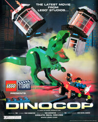 A poster that was included in the Nov - Dec 2000 issue of LEGO Mania Magazine