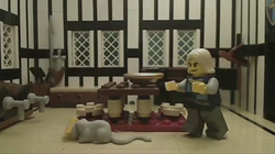 The mouse gets away with the cheese