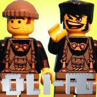 Nik and Mazo on the Oli-AG logo